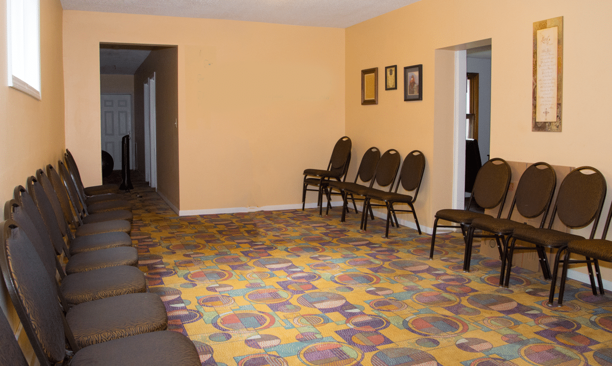 Pacific House prayer room