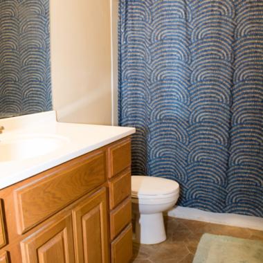 White Bear house bathroom