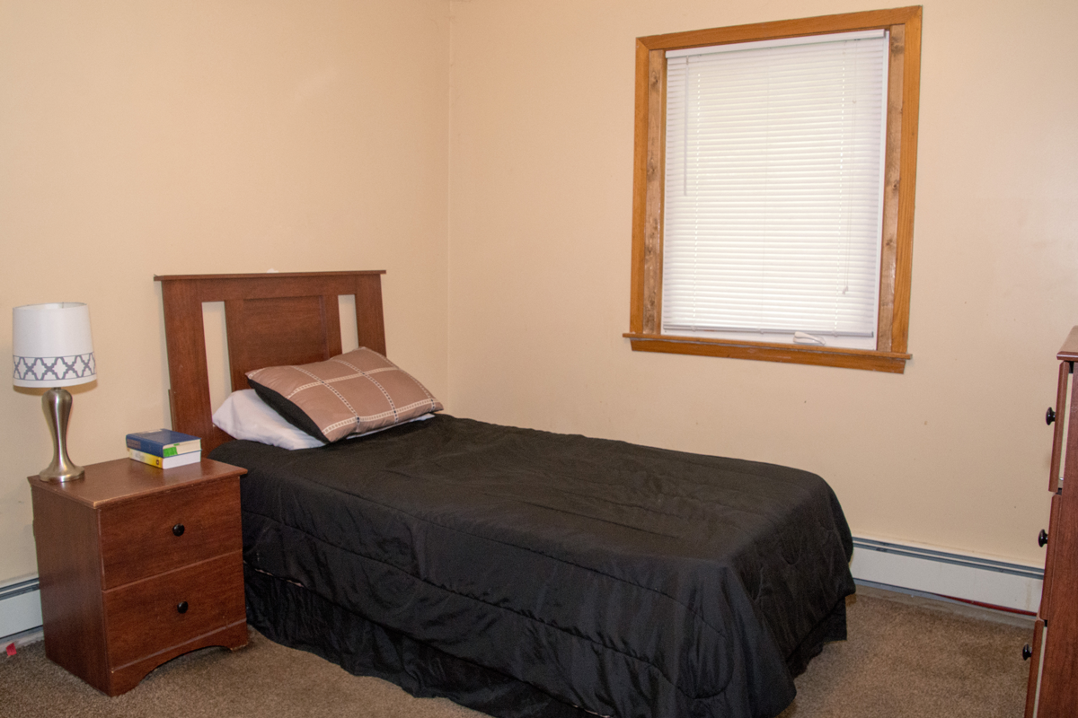 White Bear house bedroom