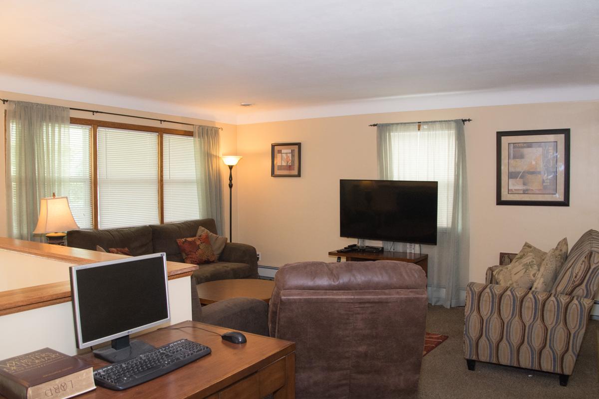 White Bear house entertaining living room
